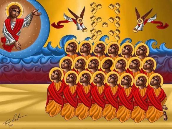 21 martyrs icon